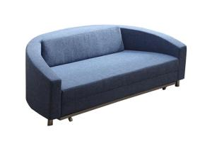 Round Fabric Sleeper Sofa