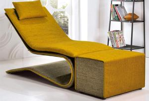 Fabric Lounge Chair Sofa