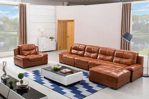GF056 Modern Leather Sofa