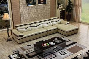 GF096 Modern Sectional Leather Sofa