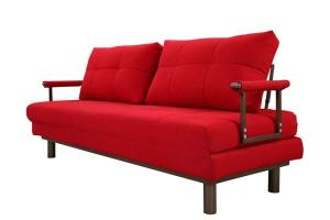 AD109 Wood Frame Fabric Sofa Bed
