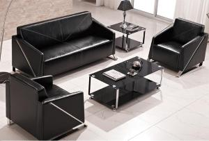 Commercial Leather Couch