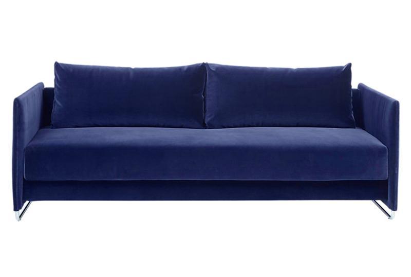 Metal Frame Fabric Sleeper Sofa Furniture Provider