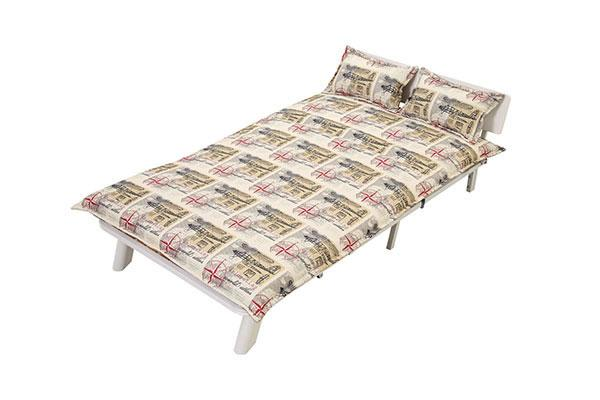AD001 Folding Fabric Sofa Bed